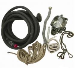 Противогаз шланговый ПШ-1 с резинотканевым шлангом 10м., маской МАГ или ППМ с х/б амуницией