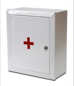 Аптечка для производственных предприятий(аптечка производственная, металлический шкаф)