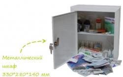 аптечка производственная, металлический шкаф