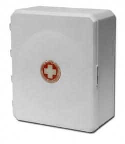 Аптечка для детских и учебных учреждений, пласт шкаф