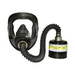 Противогаз фильтрующий марки Б (защита от бороводородов) марка В1Е2Р3D с маской ШМ (металлическая коробка)