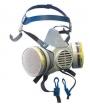 Респиратор фильтрующий Кама Стандарт с фильтром ДОТ 120 марка А2В2Е2Р2D